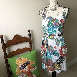 Trina Turk For Banana Republic Silk Dress Size 4